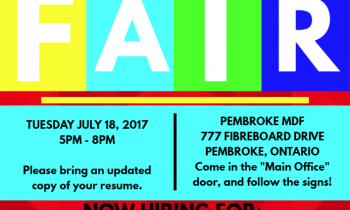 Job Fair – Pembroke MDF